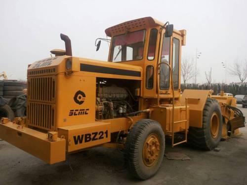 山东滨州市出租陕建机轮式后置式WBZ21稳定土拌合机
