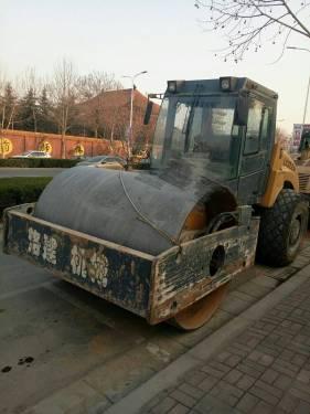 河南郑州市出租国机洛建机械式20吨洛建 LSS220单钢轮压路机
