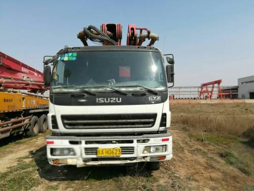 湖北武汉市出租三一重工48-52米(四桥)奔驰三一46米52米泵车泵车