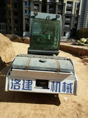 河南郑州市出租国机洛建机械式12吨LSS312单钢轮压路机