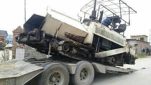 广西南宁市16.8万元出售华通动力WTL8500稳定土摊铺机