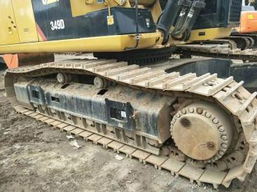 江苏苏州市170万元出售卡特彼勒特大挖349挖掘机