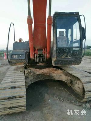 广西河池市48.6万元出售日立中挖ZX200挖掘机