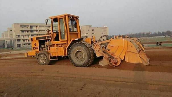 陕西西安市出租陕建机轮式210稳定土拌合机