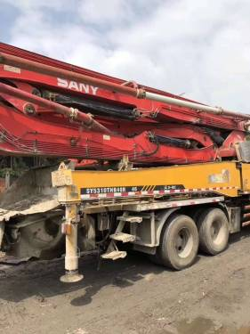 湖南长沙市出租三一重工45-47米(三桥)五十铃46M泵车