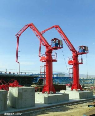 江苏徐州市出租建研液压40米以上HGY28布料杆