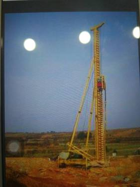 河南濮阳市出租宇通重工30米的钻机长螺旋钻孔机