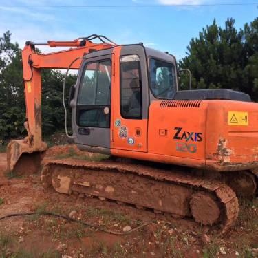 浙江金华市25万元出售日立小挖ZX120挖掘机