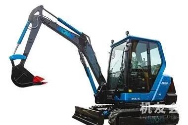 徐工3.2噸小型電動挖掘機現已面向中國市場進行性能和客戶測試